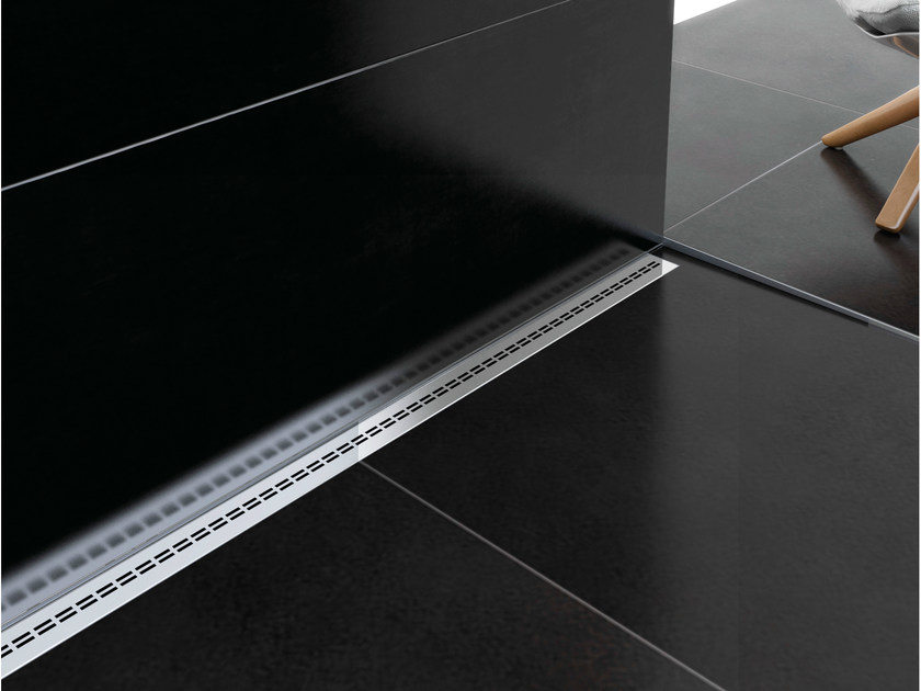 DOUBLE LINE COVER - polished stainless steel AISI 304 DIN 1.4302