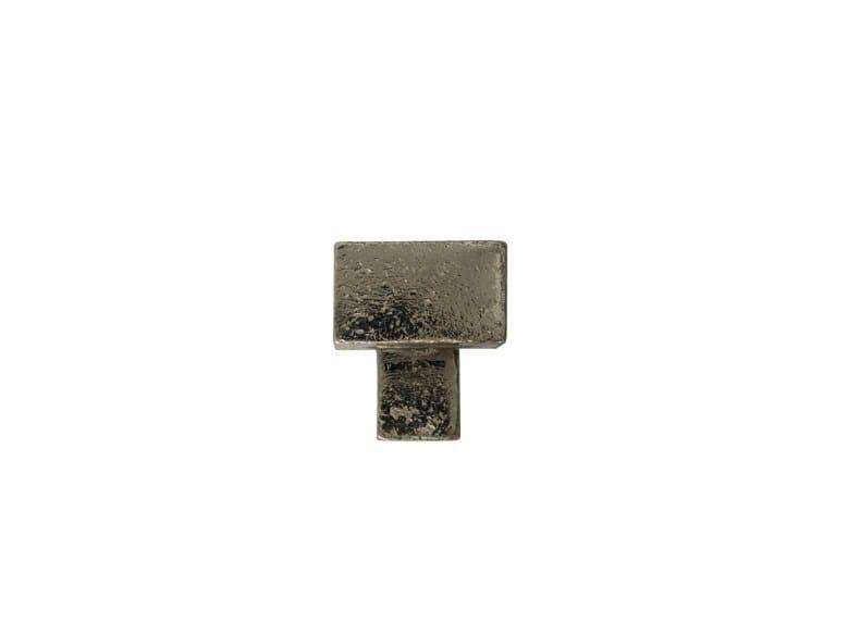Metal Furniture knob PQ 45 | Furniture knob - Dauby