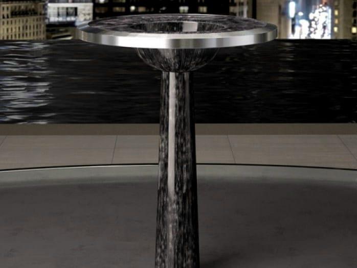 Freestanding pedestal washbasin BJ - Glass Design
