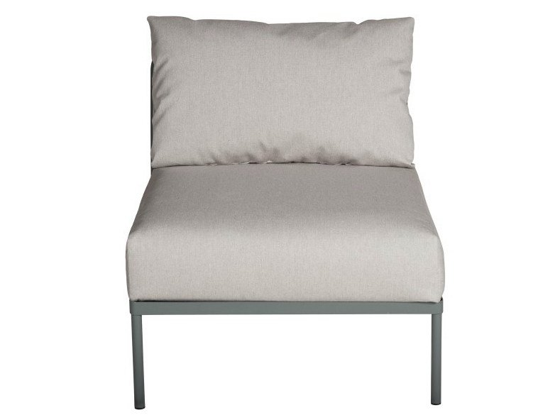 Sectional modular garden armchair CHELSEA | Sectional armchair - Tectona