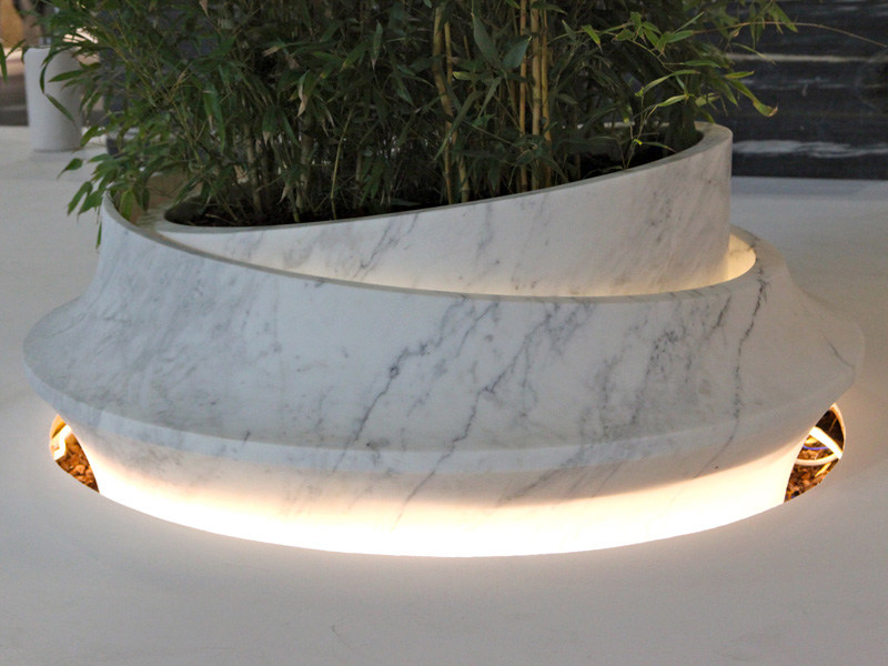 Marble Flower pot CRATER - FRANCHI UMBERTO MARMI