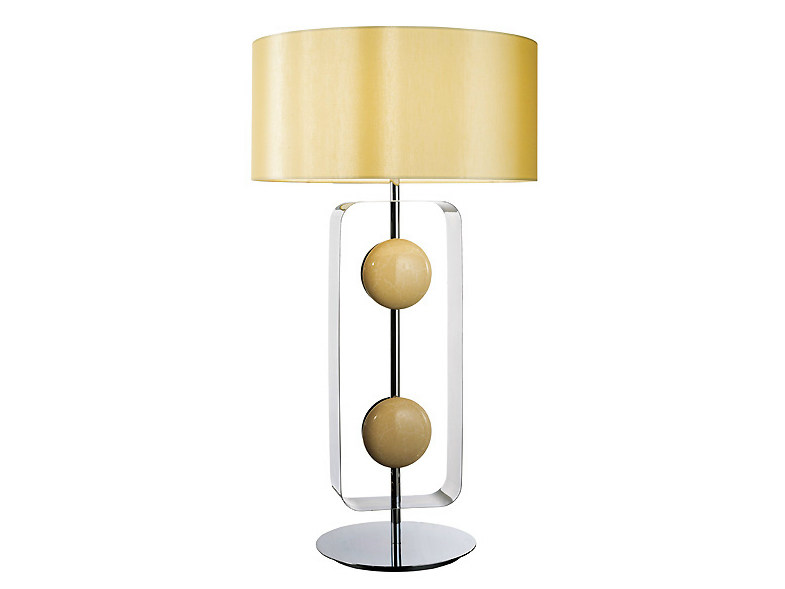 Brass table lamp TARGET | Table lamp by MARIONI