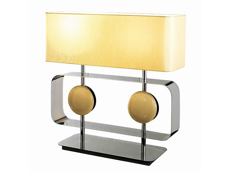 Brass table lamp TARGET LARGE - MARIONI