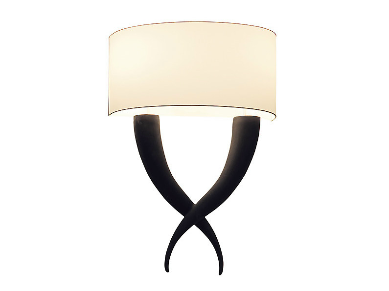 Metal wall light HORN | Wall light - MARIONI