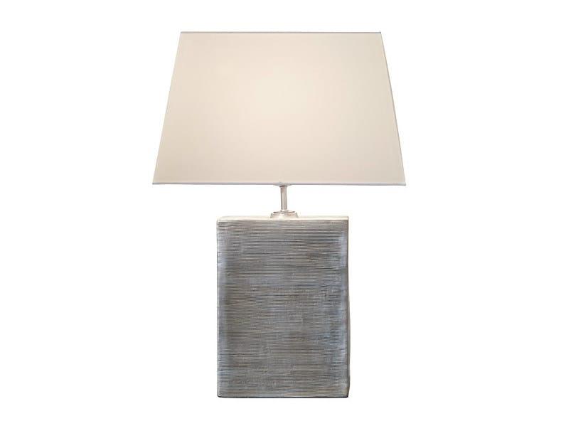 Ceramic table lamp QUIN | Table lamp - MARIONI