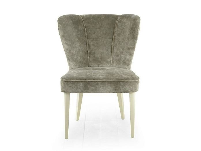 Upholstered fabric chair NEVADA | Upholstered chair - MARIONI