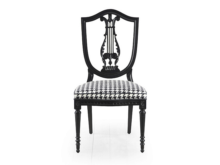 Open back chair CITRUS | Upholstered chair - MARIONI