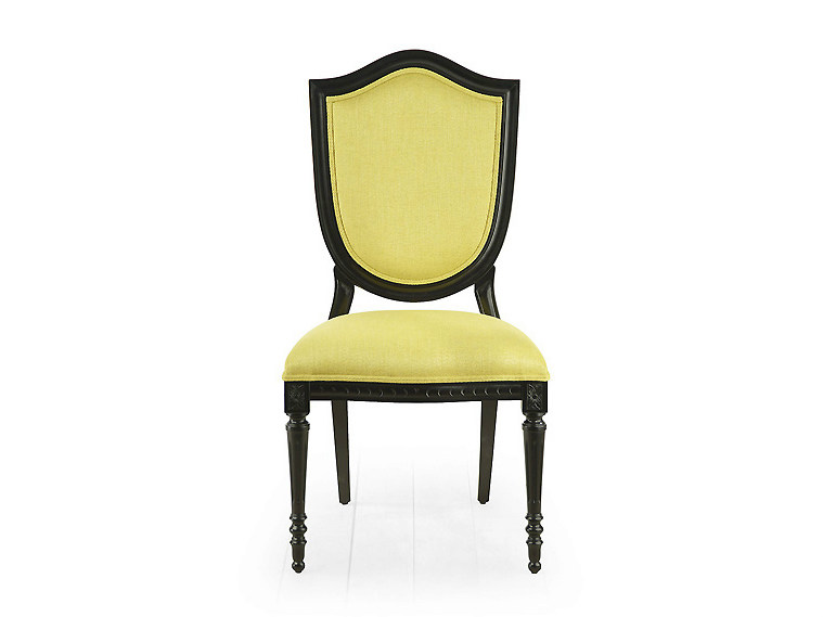 Upholstered fabric chair BRISTOL | Upholstered chair - MARIONI