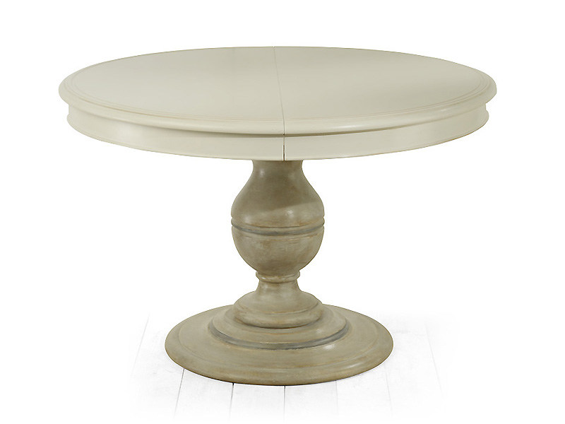 Extending solid wood table TUDOR | Round table - MARIONI