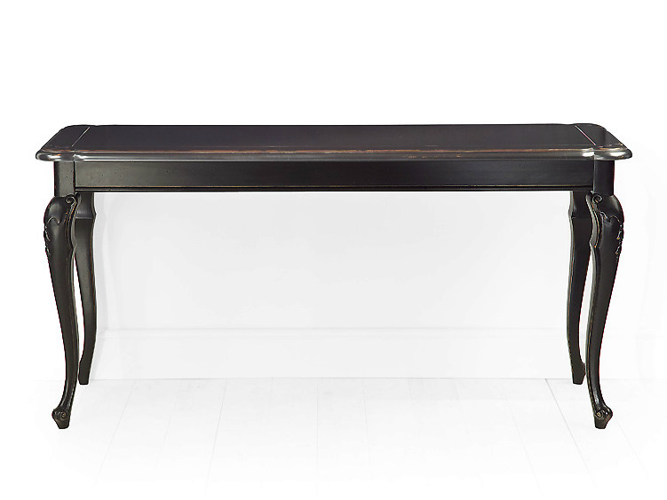 Solid wood console table with drawers RIVOLI | Console table by MARIONI