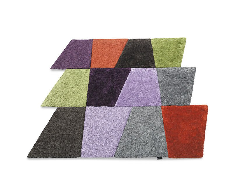 Fabric rug SLIDE | Rug - Lago