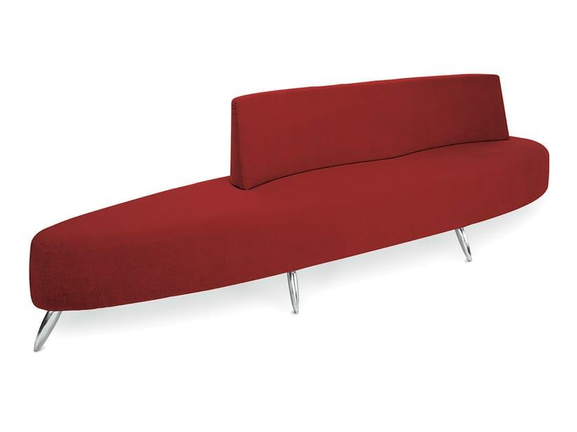 Bench seating with back ISLAMORADA 300 - Gamma & Bross