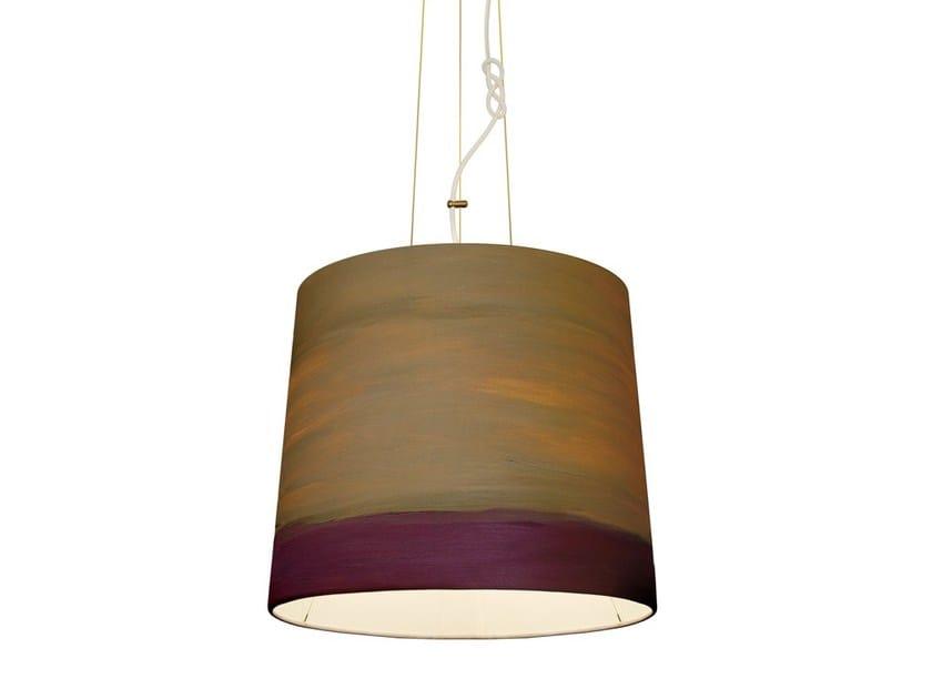 Handmade fabric pendant lamp TWILIGHT | Pendant lamp - Mammalampa