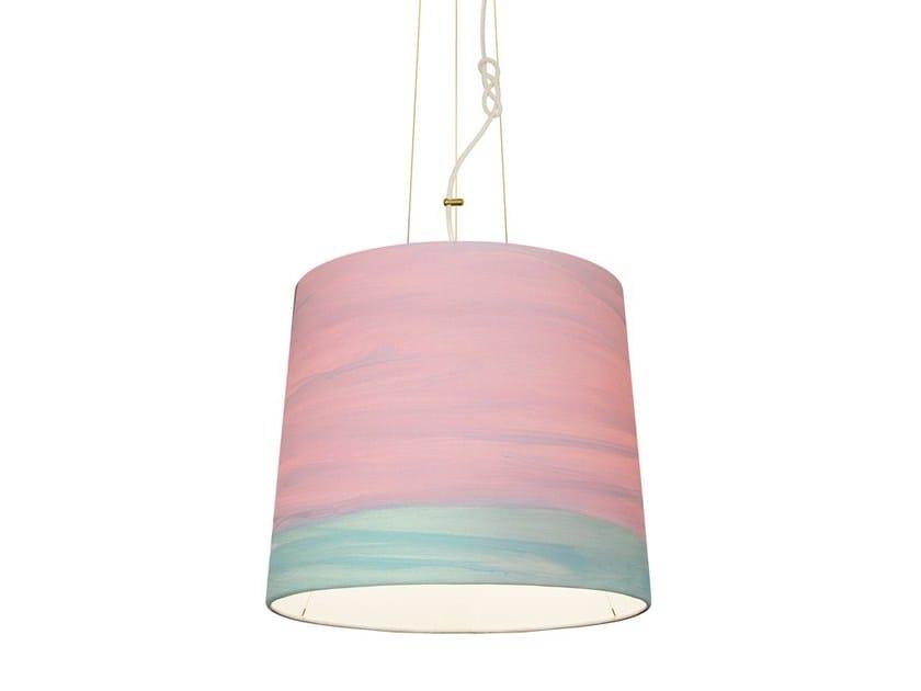 Handmade fabric pendant lamp BLOSSOM   Pendant lamp - Mammalampa
