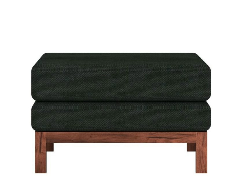 Wood and fabric footstool ET | Footstool - Ethnicraft