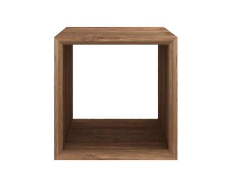 Rectangular teak coffee table TEAK CUBE | Coffee table by Ethnicraft