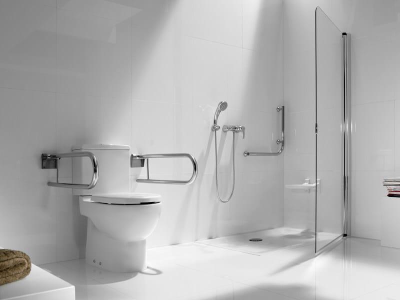 Baño Discapacitados Accesorios:Wc para discapacitados de cerámica con cisterna NEW MERIDIAN