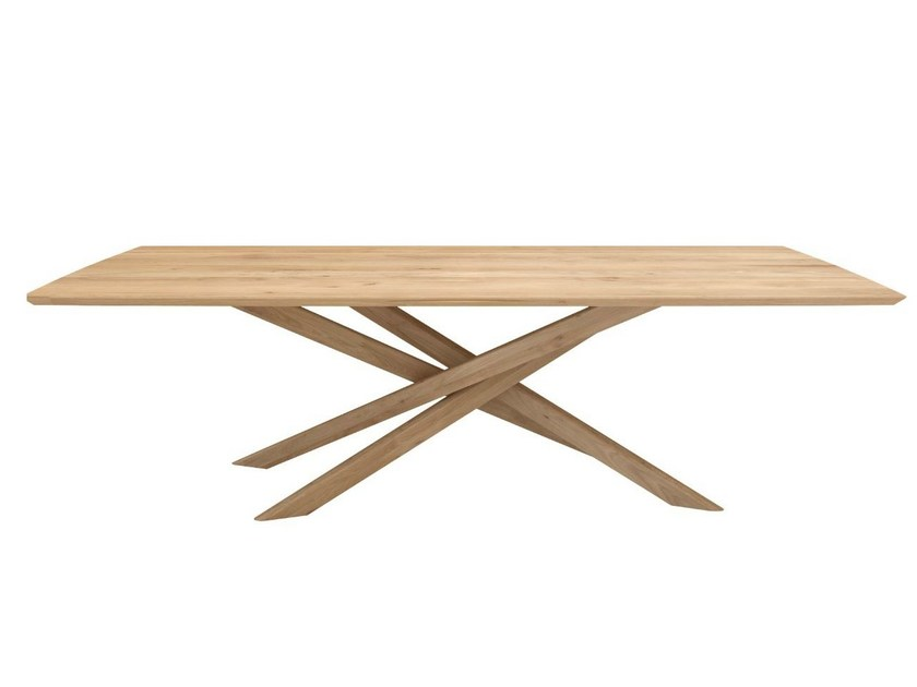 Rectangular oak dining table OAK MIKADO | Table by Ethnicraft