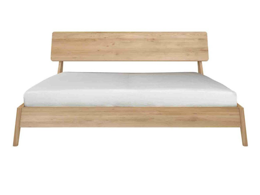 Oak double bed OAK AIR | Bed - Ethnicraft