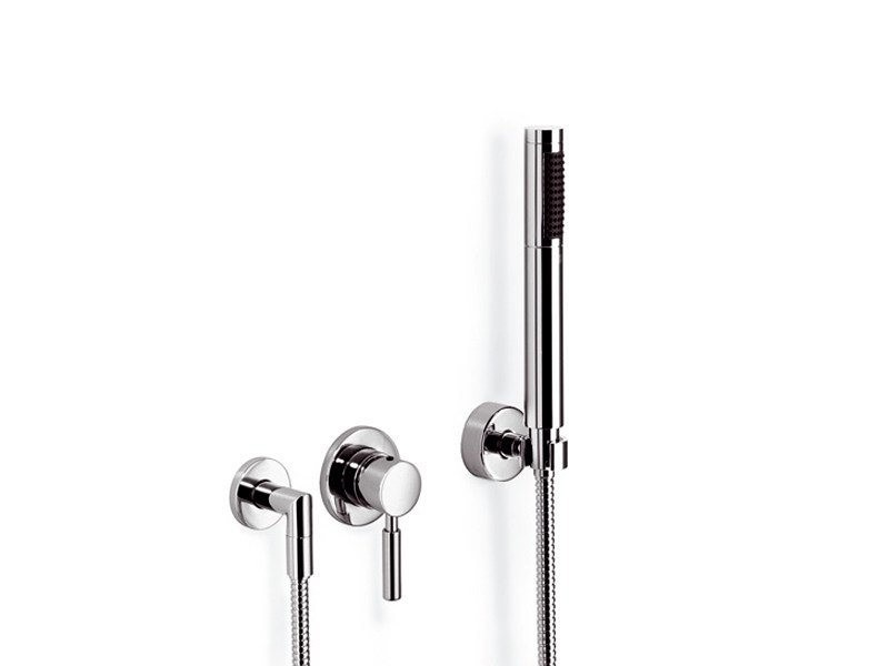 Single handle shower mixer with hand shower META.02 | Shower mixer with hand shower by Dornbracht
