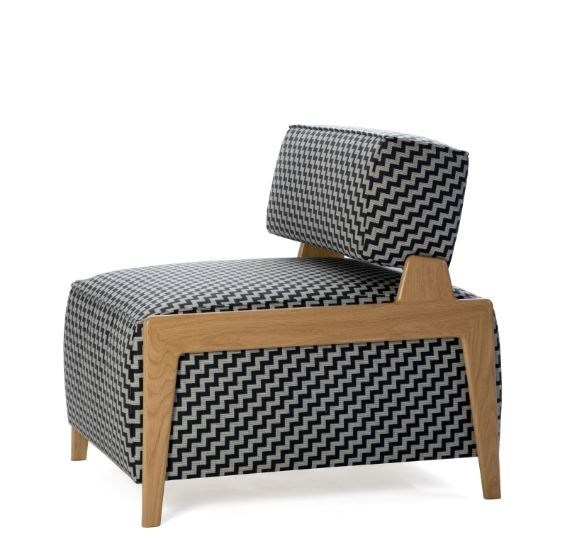 Upholstered fabric armchair BOX WOOD | Upholstered armchair - Inno Interior Oy