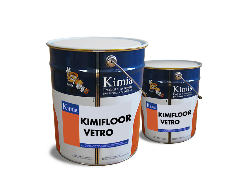 Additive and resin for waterproofing KIMIFLOOR VETRO - Kimia