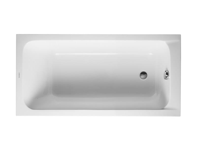 Built-in acrylic bathtub D-CODE | Built-in bathtub - DURAVIT