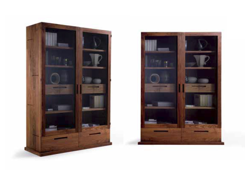 Wooden display cabinet SOLIDA - Riva 1920