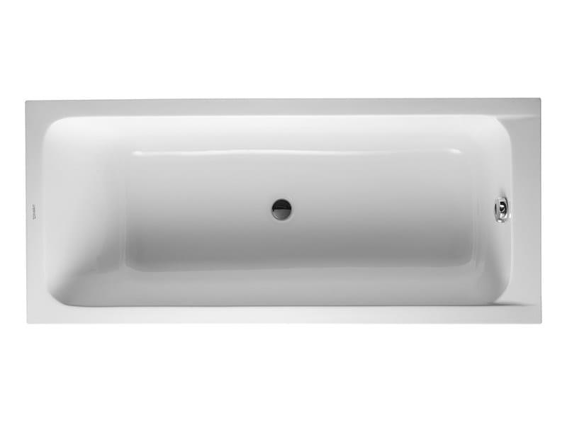 Built-in acrylic bathtub D-CODE | Built-in bathtub by Duravit
