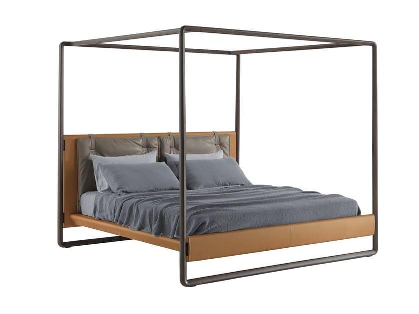 Canopy bed VOLARE - Poltrona Frau