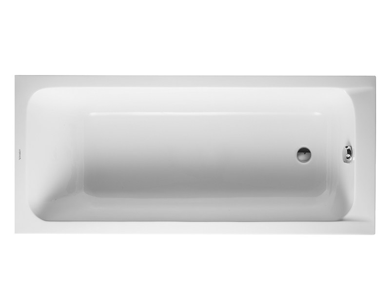 Built-in acrylic bathtub D-CODE | Bathtub - DURAVIT