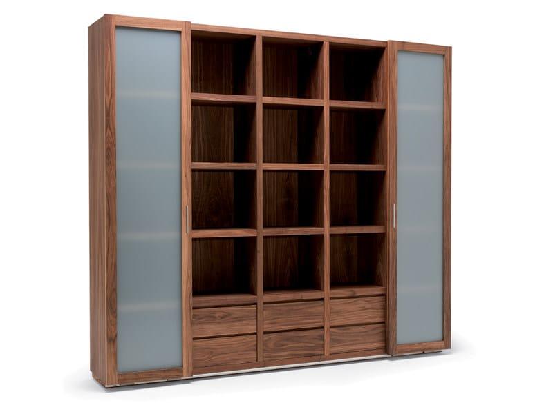 Custom wooden bookcase BROOKLYN - Riva 1920