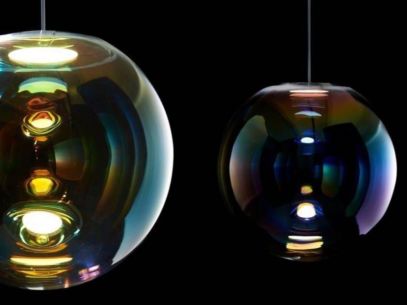 OLED crystal pendant lamp IRIS - NEO/CRAFT