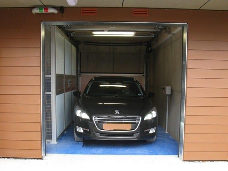 Piattaforma ascensore per auto elevatori porta auto a - Garage sotterraneo ...