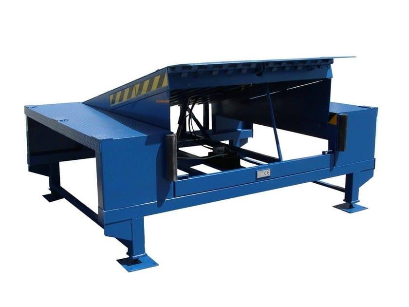 Rampa di carico pedane di carico su banchina prefabbrica for Rampe di carico per container