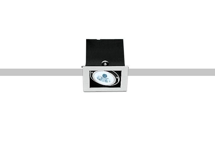 LED ceiling recessed spotlight FRAME - iGuzzini Illuminazione