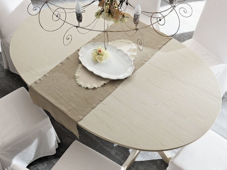 Oval living room table EVERY DAY | Table - Callesella Arredamenti S.r.l.