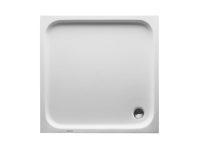 Square acrylic shower tray D-CODE | 80 x 80 - DURAVIT