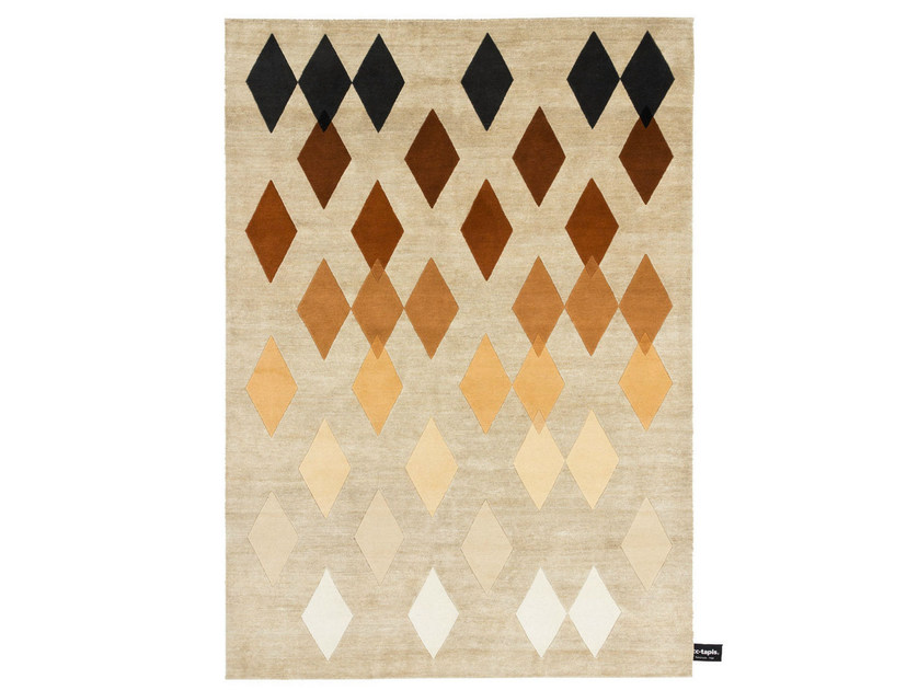 Rectangular rug with geometric shapes STELLA - cc-tapis ®