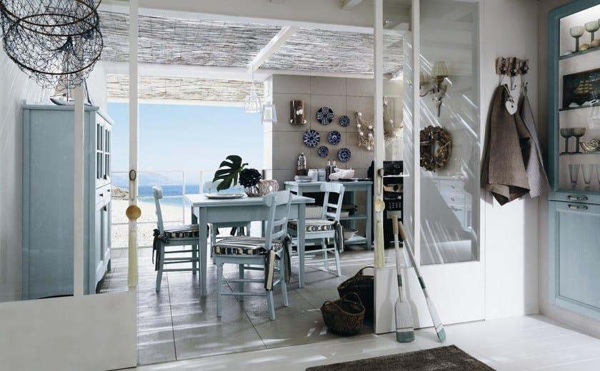 Tavolo da cucina rettangolare in legno every day tavolo callesella arredamenti - Cucine per case al mare ...