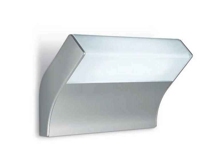 Direct light glass and aluminium wall light ANYWAY - iGuzzini Illuminazione
