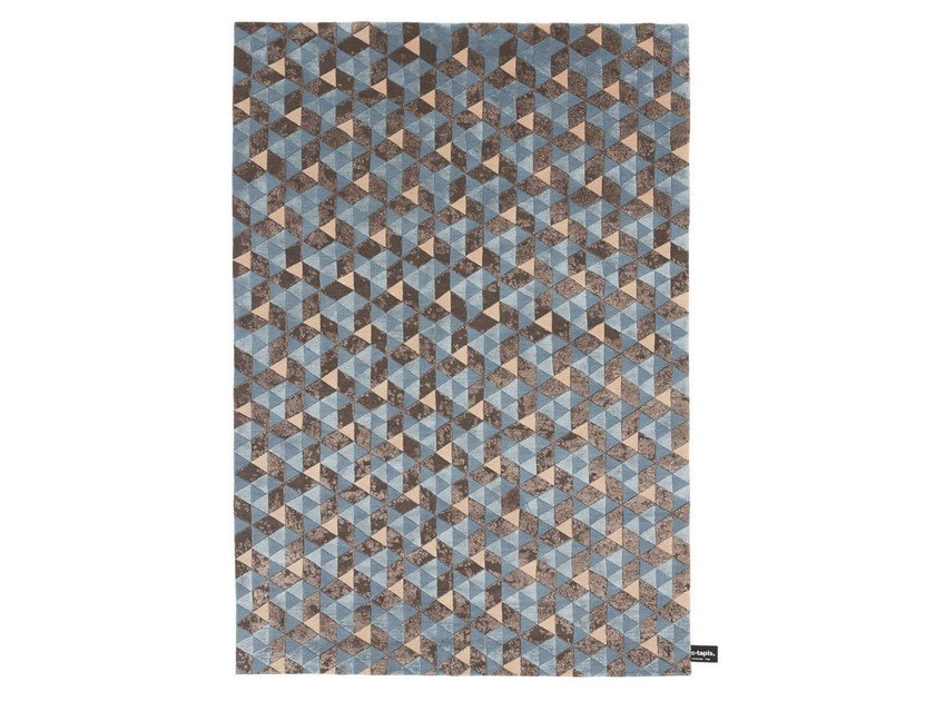 Rectangular rug with geometric shapes FLY - cc-tapis ®