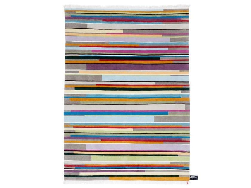 Rectangular striped rug SKYLINE - cc-tapis ®