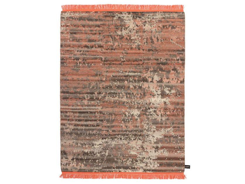 Rectangular rug OLDIE DARK - cc-tapis ®