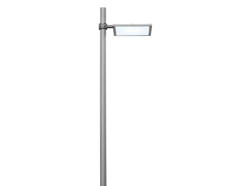 Lampione da giardino a led in alluminio pressofuso ufo by for Lampioni da giardino a led