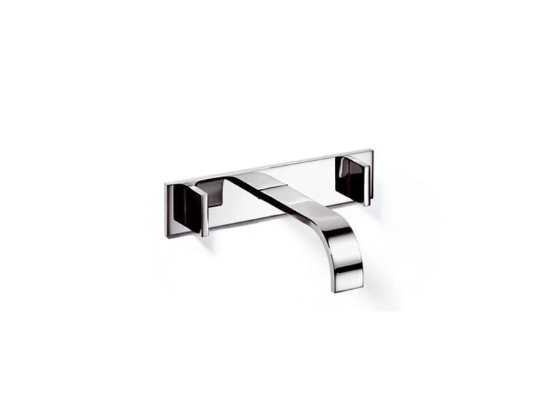 3 hole washbasin tap MEM | Wall-mounted washbasin tap - Dornbracht