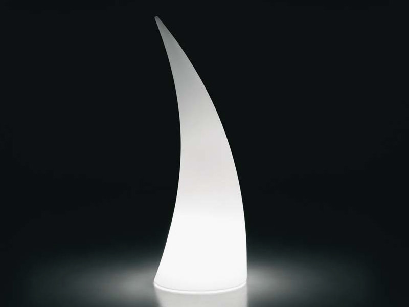 Polyethylene floor lamp HORN LIGHT - PLUST Collection by euro3plast
