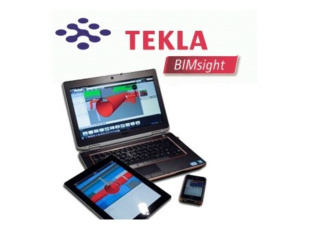 Software Building Information Modeling TEKLA BIMSIGHT - HARPACEAS