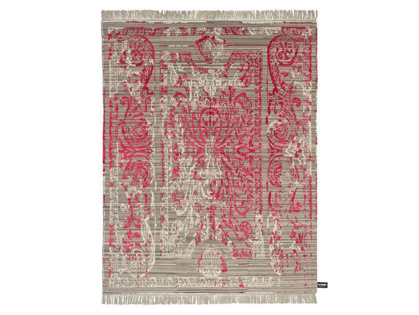 Patterned rectangular rug TRACES DE SAVONNERIE - cc-tapis ®