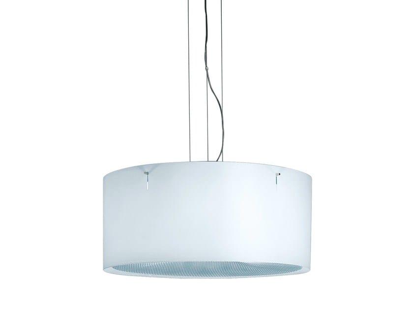 Contemporary style direct light plastic pendant lamp TRAY - iGuzzini Illuminazione